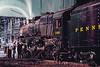 Photo 4552<br /> Pennsylvania Railroad 1361<br /> Altoona, Pennsylvania<br /> April 1987