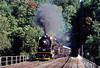 Photo 2047<br /> Reading Company 2102; Black Rock Tunnel, Phoenixville, Pennsylvania<br /> September 1985