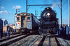 Photo 4456<br /> Reading 2102 and SEPTA<br /> Norristown, Pennsylvania<br /> December 1987