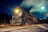 Photo 4698<br /> Reading, Blue Mountain & Northern<br /> Bridgeport, Pennsylvania<br /> December 1987