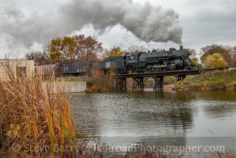Soo Line 1003; Whitewater WI; 11/9/08
