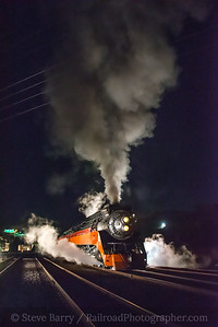 Photo 5316<br /> Southern Pacific 4449<br /> Oregon Rail Heritage Center, Portland, Oregon<br /> October 15, 2018
