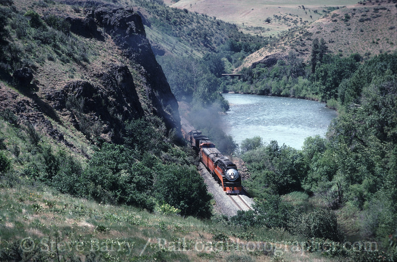 Photo 0487<br /> Southern Pacific 4449; Bristol, Washington<br /> June 15, 1997