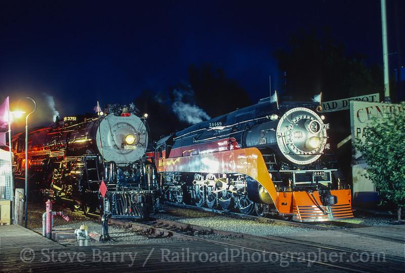 Photo 4156<br /> California State Railroad Museum; Sacramento, California<br /> June 1999