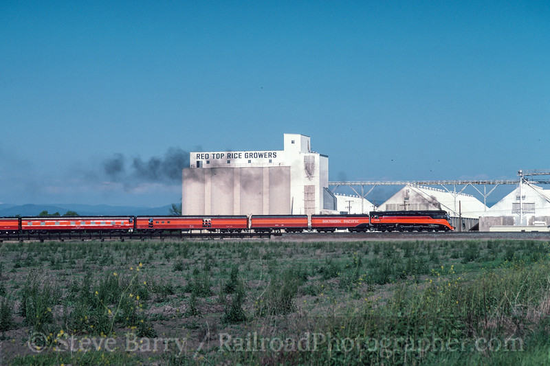 Photo 2993<br /> Southern Pacific 4449; Biggs, California<br /> May 1991