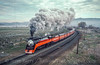 Photo 2965<br /> Southern Pacific 4449; Klamath Falls, Oregon<br /> May 1991