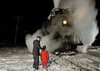 Photo 1091<br /> Pere Marquette 1225; Owosso, Michigan<br /> February 15, 2008