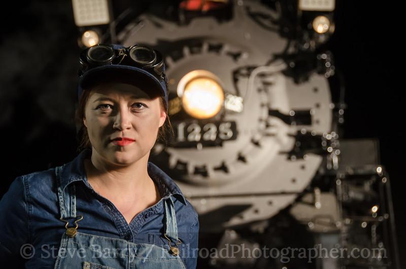 Photo 3197 Steam Railroading Institute; Owosso. Michigan June 21, 2014