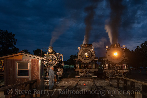 Photo 3194 Steam Railroading Institute; Owosso. Michigan June 21, 2014