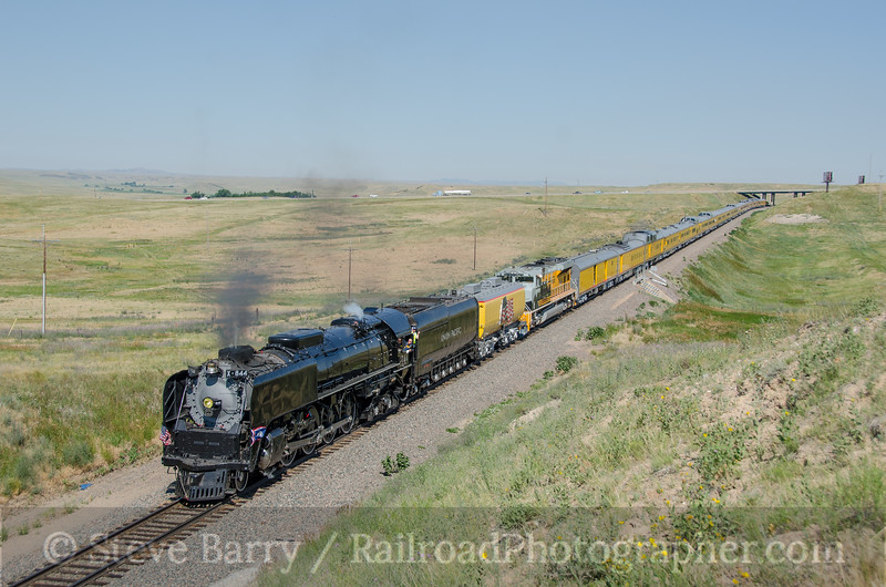 Photo 3897<br /> Union Pacific 844; Speer, Wyoming<br /> July 21, 2016