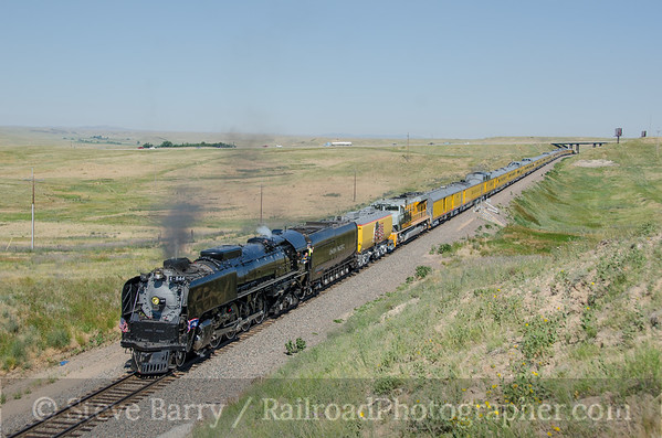 Photo 3897 Union Pacific 844; Speer, Wyoming July 21, 2016