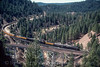 Photo 2917<br /> Union Pacific 844 and 3985; Keddie, California<br /> May 1991
