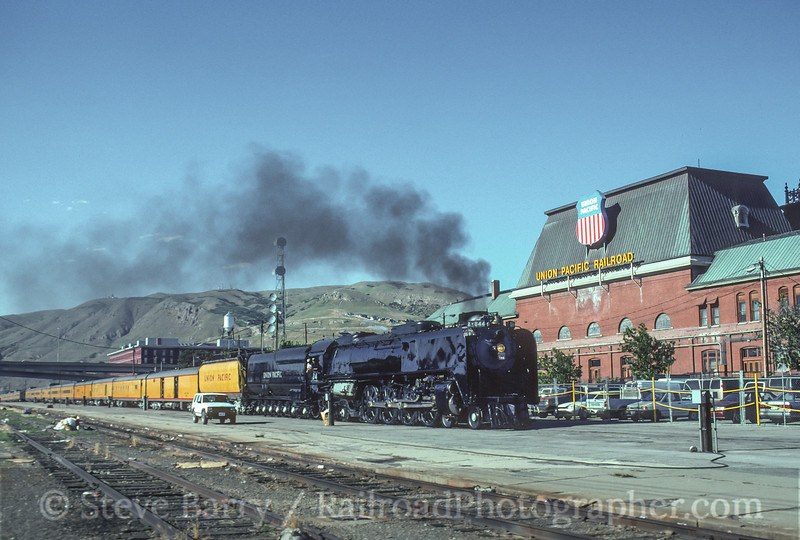 Photo 4597<br /> Union Pacific 844<br /> Salt Lake City, Utah<br /> June 28, 1997