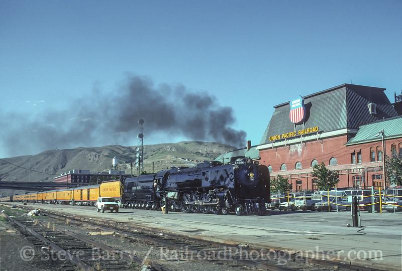 Photo 4597<br /> Union Pacific 844<br /> Salt Lake City, Utah<br /> June 28, 1997