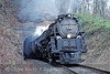 Photo 0108<br /> Clinchfield 676 (Union Pacific 3985); Wakenva, Virginia<br /> November 21, 1992