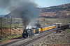 Photo 5554<br /> Union Pacific 4014<br /> Leroy Road, Fort Bridger, Wyoming<br /> May 6, 2019