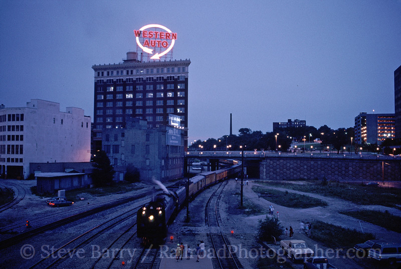 Photo 1829<br /> Union Pacific 844; Kansas City, Missouri<br /> June 1990