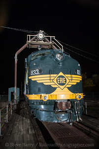 Photo 3239 Erie 833; Port Jervis, New York October 25, 2014