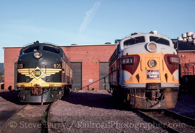 Photo 2916<br /> Steamtown National Historic Site; Scranton, Pennsylvania<br /> September 20, 1992