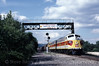 Photo 1424<br /> Delaware, Lackawanna & Western 807; Scranton, Pennsylvania<br /> July 1998