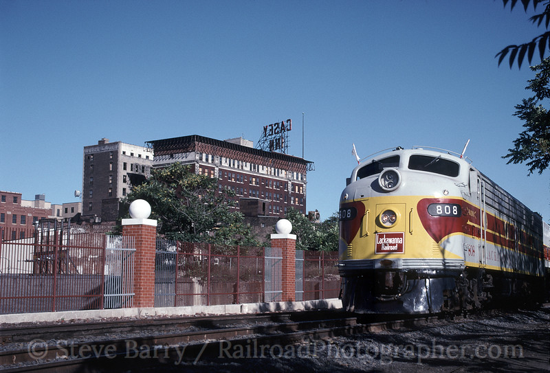 Photo 1392<br /> Delaware, Lackawanna & Western 808; Scranton, Pennsylvania