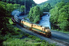 Photo 4483<br /> Reading, Blue Mountain & Northern<br /> Port Clinton, Pennsylvania<br /> July 1991