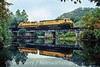 Photo 4881<br /> Reading, Blue Mountain & Northern<br /> New Ringgold, Pennsylvania<br /> October 1988