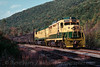 Photo 2200<br /> Reading, Blue Mountain & Northern; West Penn, Pennsylvania<br /> October 9, 1988