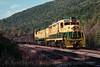 Photo 2200<br /> Reading, Blue Mountain & Northern; West Penn, Pennsylvania<br /> October 9, 1988