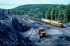 Photo 4542<br /> Reading, Blue Mountain & Northern<br /> South Tamaqua, Pennsylvania<br /> June 1991