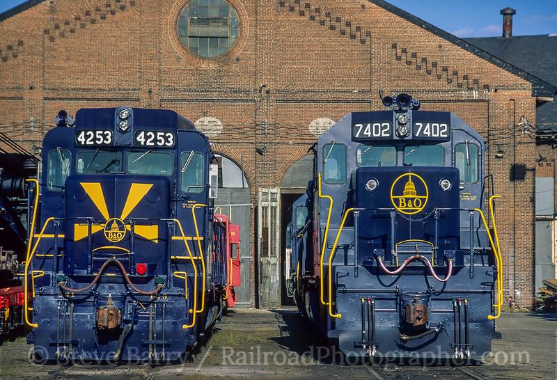 B&O Railroad Museum; Baltimore MD; 10/1995