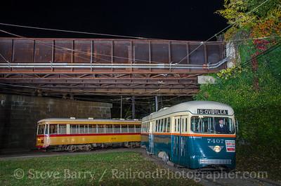 Photo 3992 Baltimore Streetcar Museum; Baltimore, Maryland November 5, 2016
