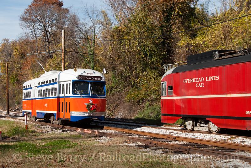 Photo 2283<br /> Baltimore Streetcar Museum<br />  Baltimore, Maryland<br /> November 19, 2011