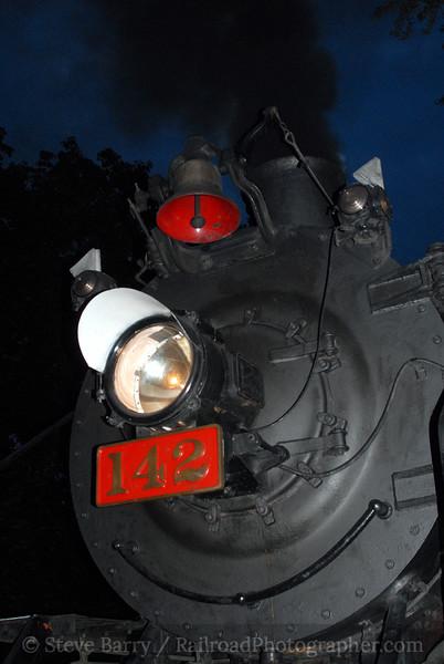 Photo 0724<br /> New York, Susquehanna & Western 142; Phillipsburg, New Jersey<br /> August 19, 2006
