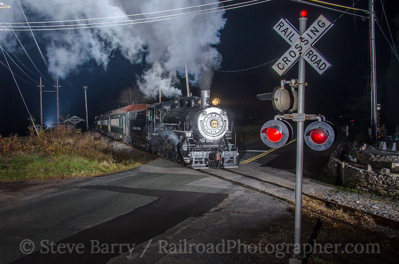 Photo 3638<br /> Black River & Western; Ringoes, New Jersey<br /> December 13, 2015