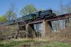 Photo 4064<br /> Black River & Western; Copper Hill Trestle, Flemington, New Jersey<br /> April 14, 2017