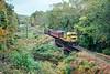 Photo 5483<br /> Black River & Western<br /> Alexauken Creek, Lambertville, New Jersey<br /> October 1991