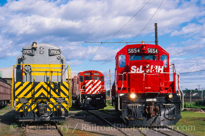 Photo 4554<br /> Canadian Railway Museum<br /> St. Constant, Quebec<br /> July 1996