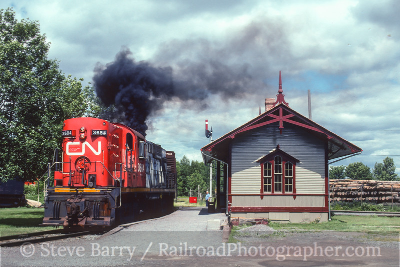 Photo 5007<br /> Canadian Railway Museum<br /> St. Constant, Quebec<br /> July 1996