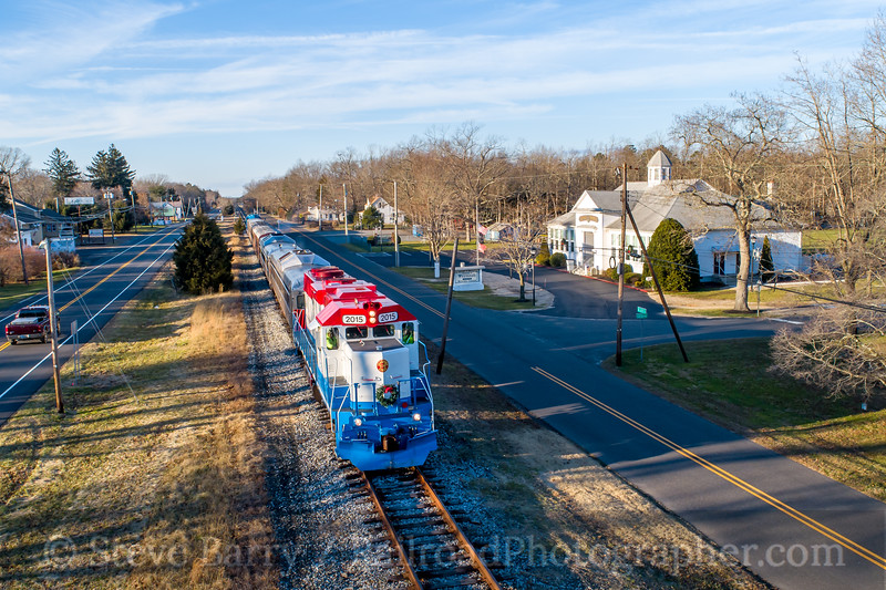 Photo 5430<br /> Cape May Seashore Lines<br /> Dorothy, New Jersey<br /> December 29, 2018