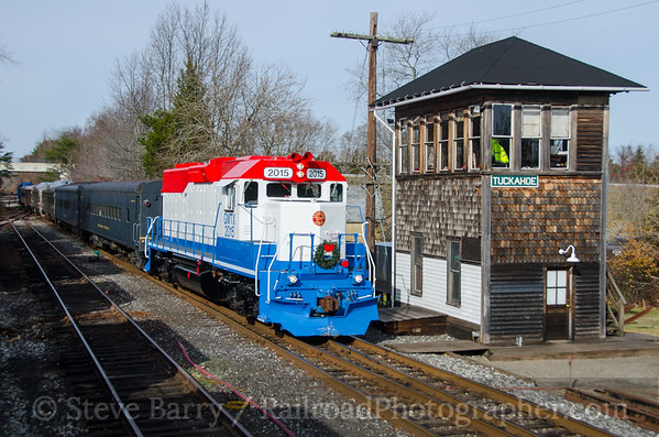 Photo 4008 Cape May Seashore Lines; Tuckahoe, New Jersey December 4, 2016
