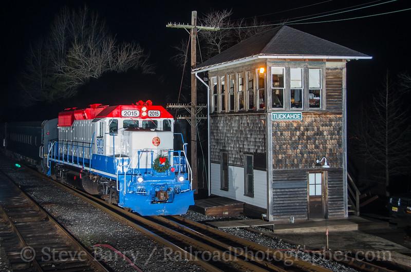 Photo 4019<br /> Cape May Seashore Lines; Tuckahoe, New Jersey<br /> December 20, 2016