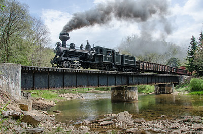 Photo 3405 Cass Scenic (on West Virginia Central): Cheat Bridge, West Virginia May 15, 2015