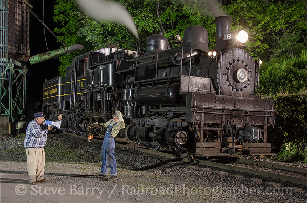 Photo 3407 Cass Scenic Railroad; Cass, West Virginia May 15, 2015