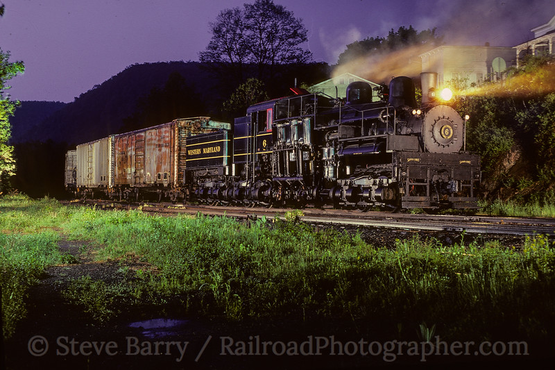 Photo 4115<br /> Cass Scenic; Cass, West Virginia<br /> May 1982