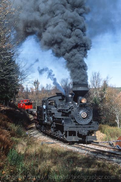 Photo 3542<br /> Cass Scenic; Cass, West Virginia<br /> October 2001
