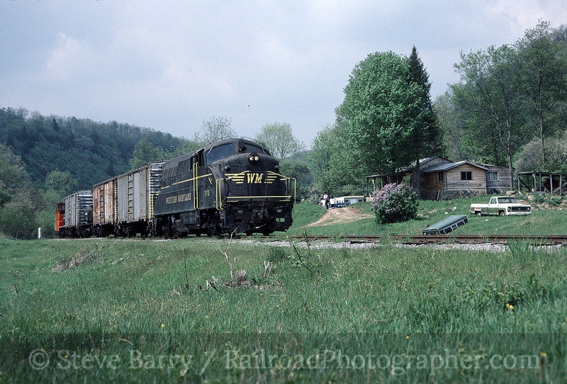 Photo 1586<br /> Cass Scenic Railroad; Durbin, West Virginia