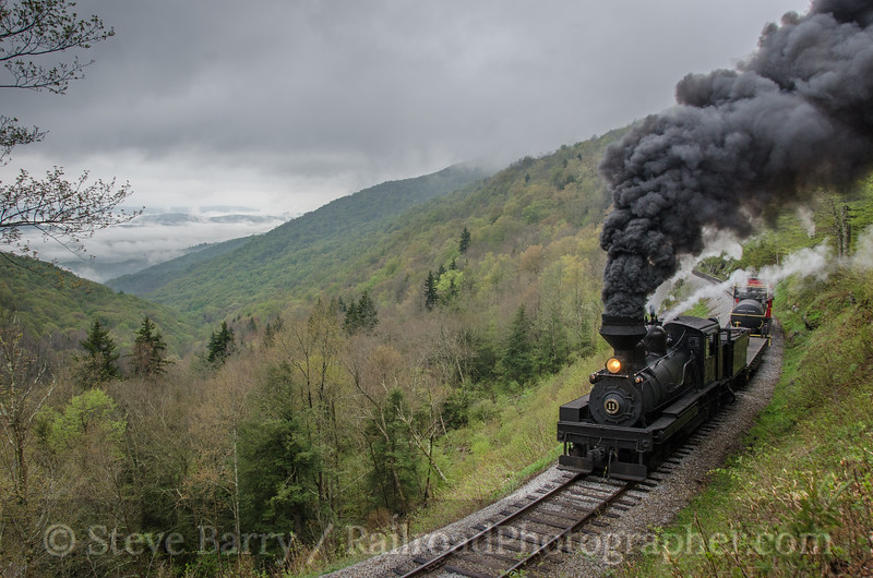 Photo 2696<br /> Cass Scenic Railroad; Old Spruce, West Virginia<br /> May 18, 2013