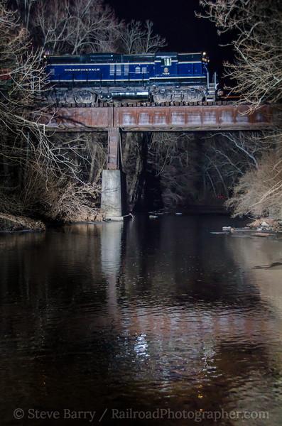 Photo 4022<br /> Colebrookdale Railroad; Pine Forge, Pennsylvania<br /> December 23, 2016