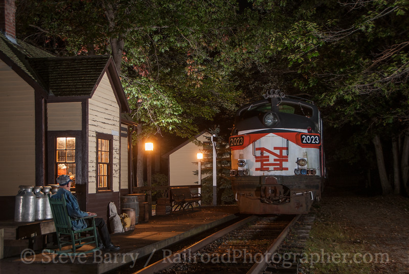 Photo 3223<br /> Connecticut Eastern Railroad Museum; Willimantic, Connecticut<br /> October 5, 2014
